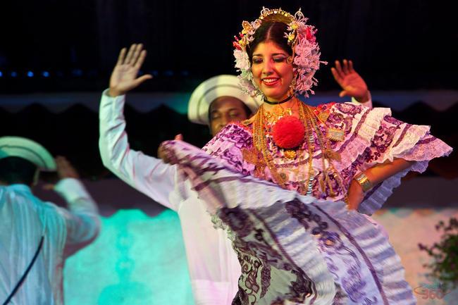 Typical Panamanian Dance