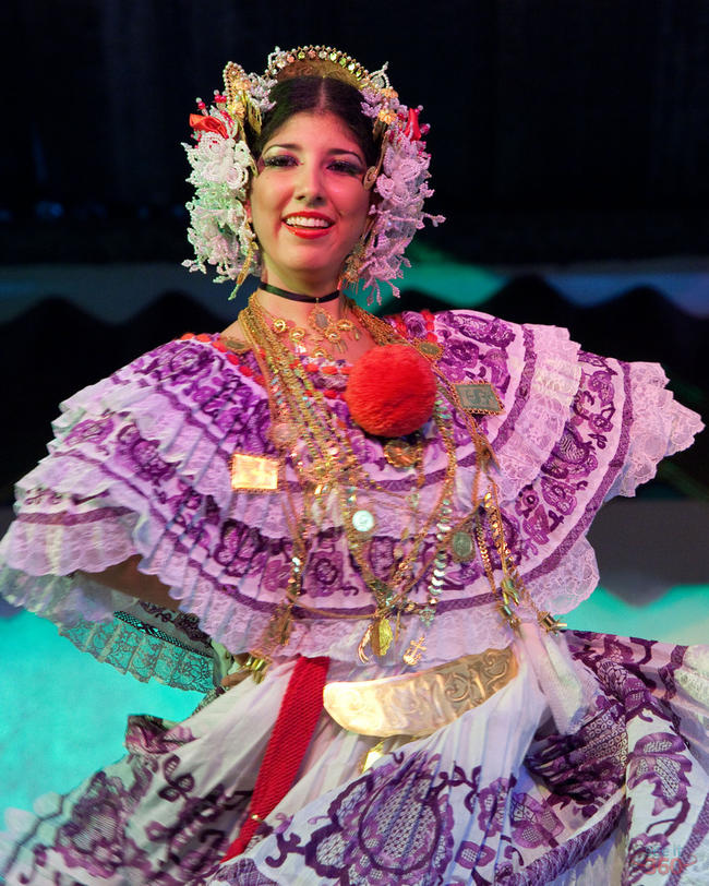 """La Pollera"" -  a Panamanian Typical Dress"