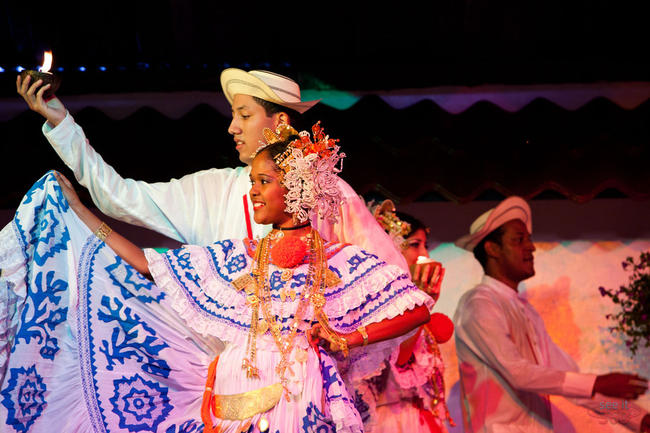 Typical Dance Performance at La Concepción, Panama