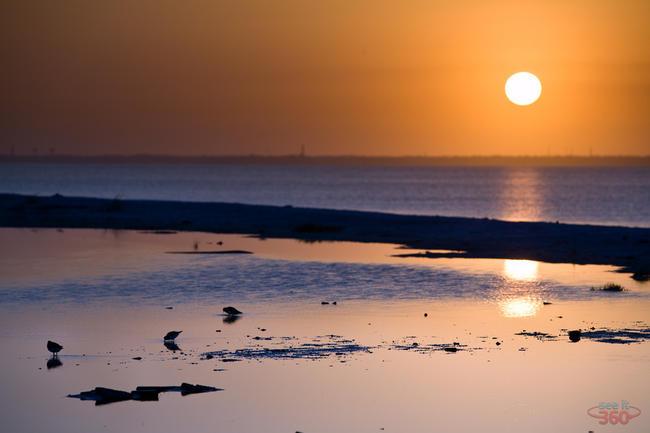 Sunset at Pensacola Beach, Florida