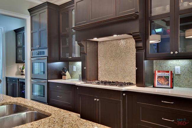 Interior Photography:  kitchen at Drew Valley
