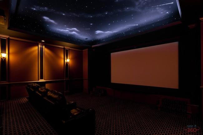 Media Theater Ceiling - Under the Stars (large view)