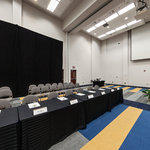 Dennard Conference Center Virtual Tour: Grand Ballroom – Boardroom Style