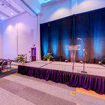 Dennard Conference Center Virtual Tour: Grand Ballroom Banquet Style