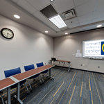 Dennard Conference Center Virtual Tour: Executive Conference Room 205A (open square style)