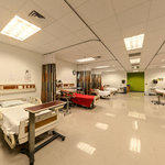 Dennard Conference Center Virtual Tour: Large Hospital Room