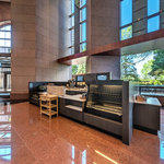 Bank of America Plaza Virtual Tour: Starbucks Coffee Counter