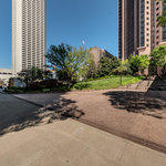 Bank of America Plaza Virtual Tour: Building Entrance at West Peachtree and North Avenue