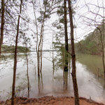 Beach Area Flooded at Little Ridge Park @ Lake Lanier