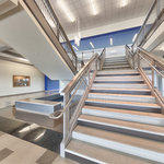 North Atlanta High School Virtual Tour: Stairs Going Up