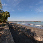 Puerto Armuelles, Panama -  View of El Carmen Neighborhood and the Pier