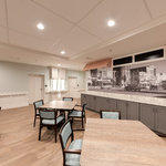 Dining Room and Kitchen: Winthrop Memory Care Virtual Tour