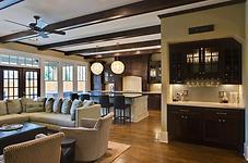 Interior Photography:  house bar