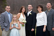 Wedding Photography:  family portrait