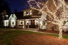 Blake Shaw Homes - Night Shot, Front 3