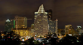 Buckhead Skyline at Night