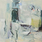 Clara Blalock Abstract Oil On Canvas - Image 1