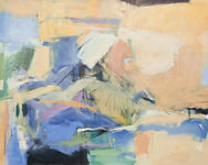 Clara Blalock Abstract Oil On Canvas - Image 3