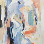 Clara Blalock Abstract Oil On Canvas - Image 5