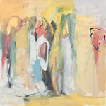 Clara Blalock Abstract Oil On Canvas - Image 7