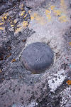 Survey Marker at Volcan Baru