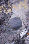 Survey Marker at Volcan Baru