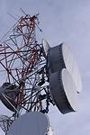 Telecommunication Towers at Volcan Baru