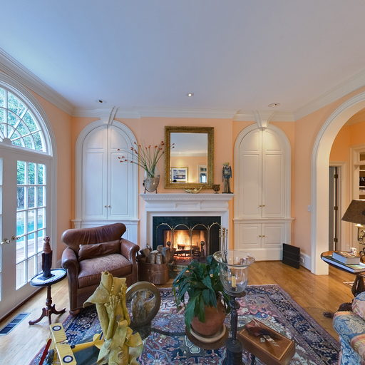 Living Room Of Atlanta Home Virtual Tour